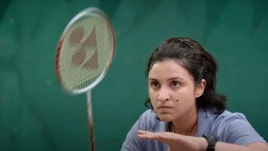 Parineeti Chopra as Saina Nehwal.