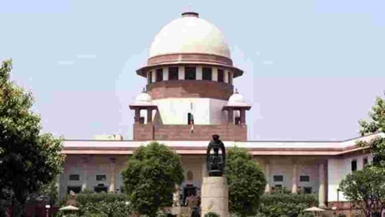 The Constitution bench of the Supreme Court will soon take up the case of Maratha quota law's validity.(Sonu Mehta/HT PHOTO)