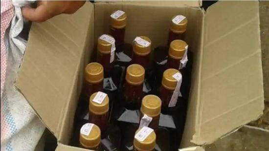 Police are on the illicit liquor trail since last July's hooch tragedy that left more than 130 people dead in the border districts of Amritsar, Tarn Taran and Gurdaspur. (HT file photo)