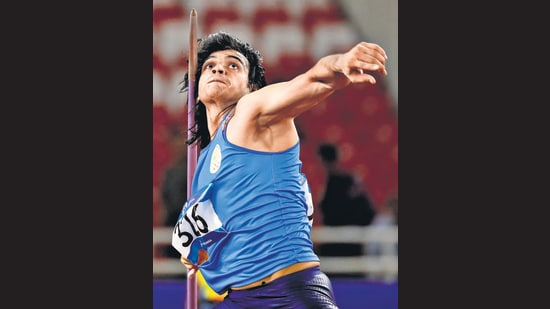 Javelin thrower Neeraj Chopra has had it particularly rough. He last competed in January 2020. He hopes to resume competition this month. (AFP)