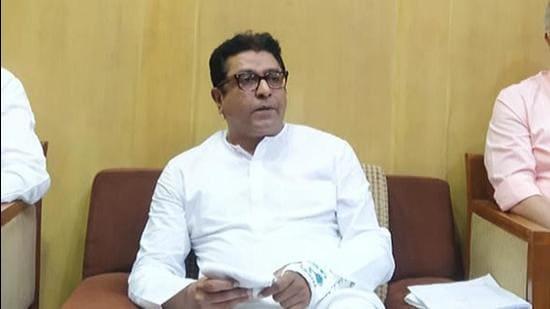 Maharashtra Navnirman Sena (MNS) chief Raj Thackeray. (HT FILE)