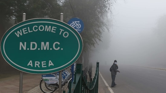 The NDMC topped the 'Municipal Performance Index 2020' in the 'less than million' population category out of a list of 60 corporations.(Arvind Yadav / HT Photo)