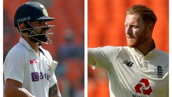 Virat Kohli and Ben Stokes.(BCCI/Reuters)