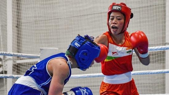 Six-time world champion MC Mary Kom (51kg)(PTI)