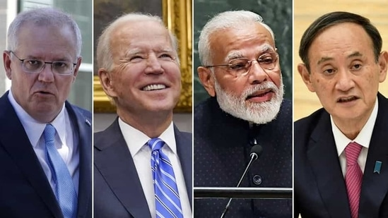 The decision to hold the Quad summit soon after the Joe Biden administration takes charge indicates that the security dialogue has been institutionalised.(Agencies)