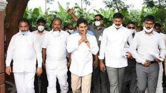 On Thursday, the last day for filing of nominations for the six MLC seats under MLAs' quota, only YSRC candidates filed their papers and the opposition Telugu Desam Party stayed away from the contest as it does not have enough numbers in the assembly to field its candidates. (TWITTER).