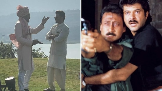 Anil Kapoor and Jackie Shroff have starred together in films such as Parinda and Ram Lakhan.