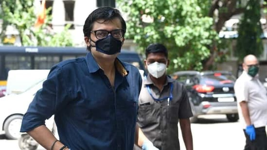 Republic TV's editor-in-chief and primetime anchor Arnab Goswami.(Satish Bate/HT File Photo )