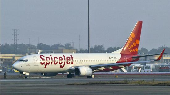 On Wednesday, SpiceJet announced its tie-up with WheelTug which will provide the electric taxiing system. (HT FILE)