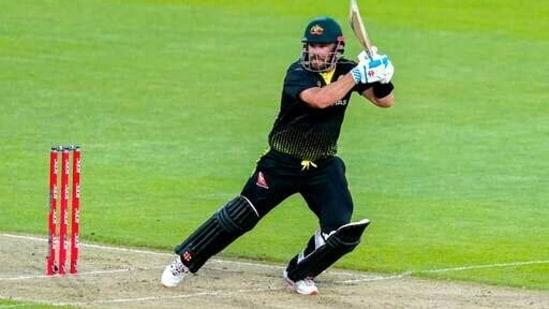 Australia's Aaron Finch bats against New Zealand(AP)