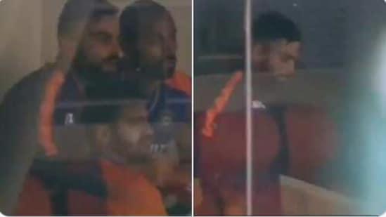Virat Kohli celebrates Rishabh Pant's hundred against England(Twitter)