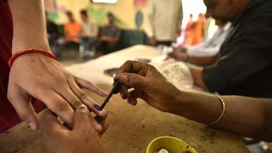 """In a statement, the poll panel said that all its deputy election commissioners and other officials posted in the commission's headquarters or working in the field are """"discharging their duties strictly as per the Constitution of India and the various extant rules regarding the conduct of elections"""". (Representative Image)(Arun Sharma/HT PHOTO)"""