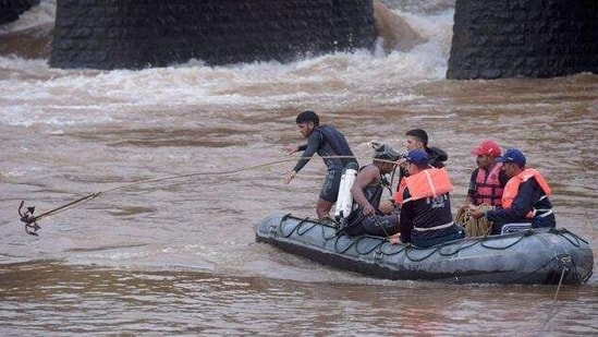 Search and rescue operations have been going on since Thursday. Representational Photo(PTI Photo)