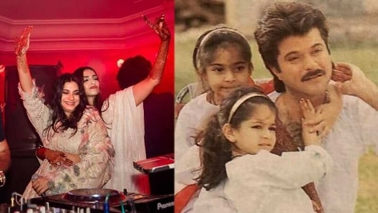 Anil Kapoor has shared a childhood picture of Rhea Kapoor on her birthday.