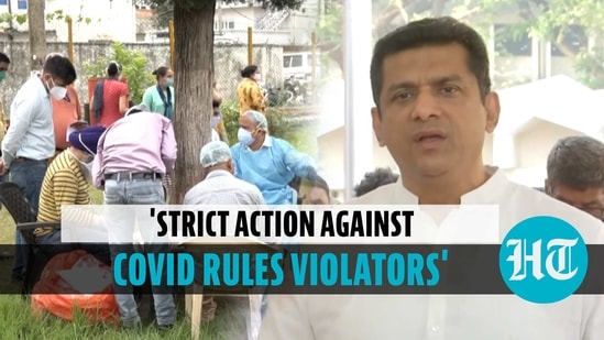 Covid rules violations: Maha minister warns of strict action amid rising cases