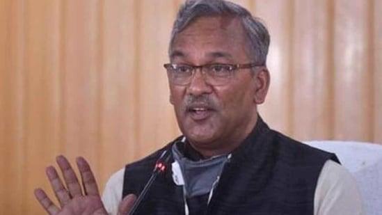 File photo: Uttarakhand chief minister Trivendra Singh Rawat.(PTI FILE)