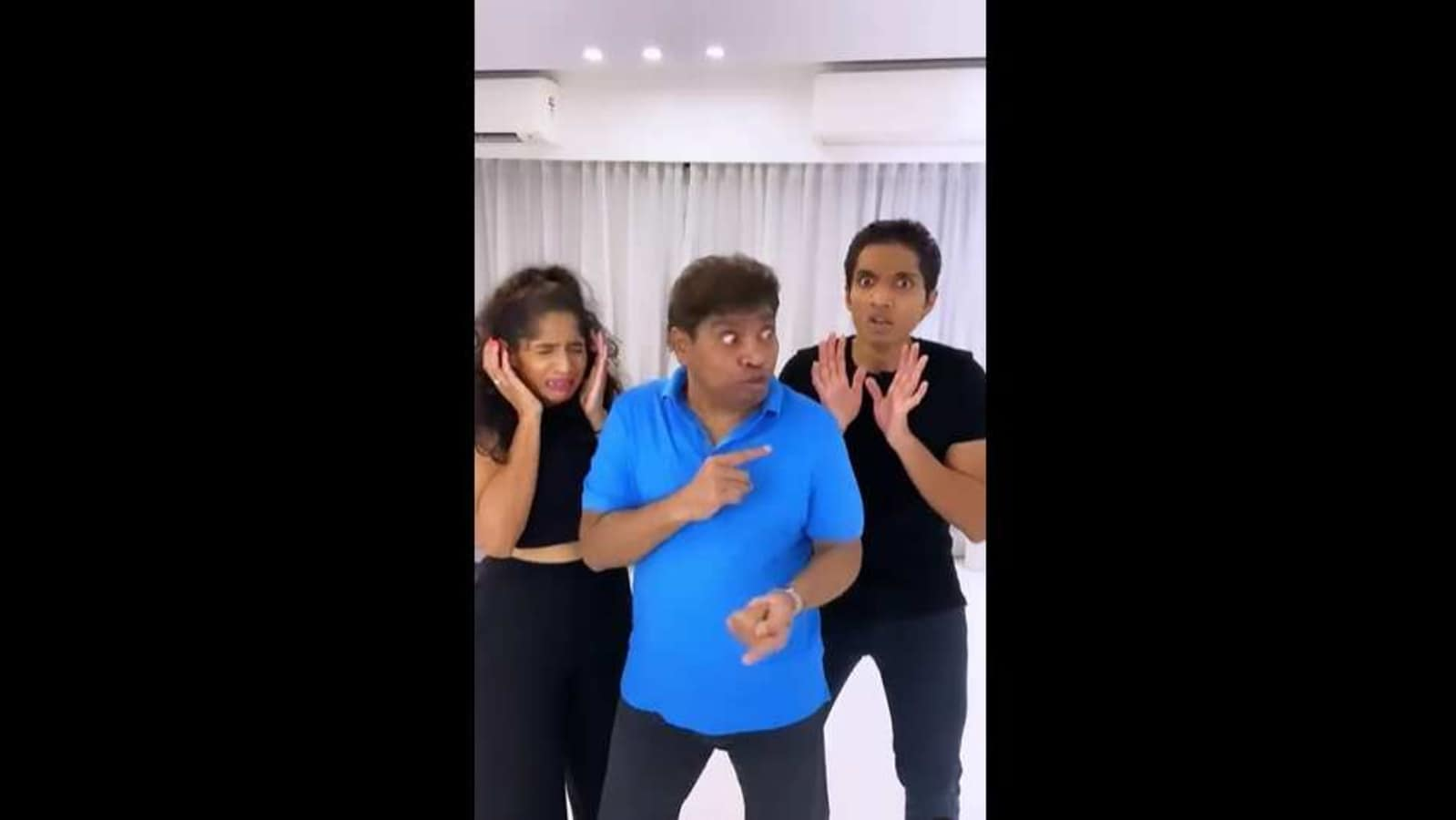 Johny Lever grooves with kids Jamie and Jesse. Netizens love their video - Hindustan Times