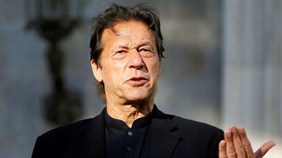 Pakistan PM Imran Khan thanked all lawmakers from his party and allies for supporting him.(Reuters)