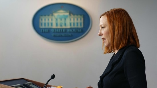 """""""This is an active threat,"""" White House spokeswoman Jennifer Psaki said when asked about the situation during a press briefing. """"Everyone running these servers needs to act now to patch them. We are concerned that there are a large number of victims,"""" she added.(AFP)"""