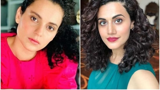 Kangana Ranaut made no delay is responding to Taapsee Pannu's latest tweet on the I-T raid on her property.