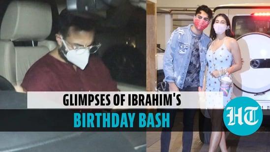 Saif Ali Khan throws party for son Ibrahim; Sara, Aryan Khan attend