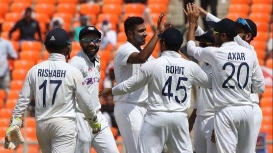 India cricket team celebrate.(BCCI/Twitter)