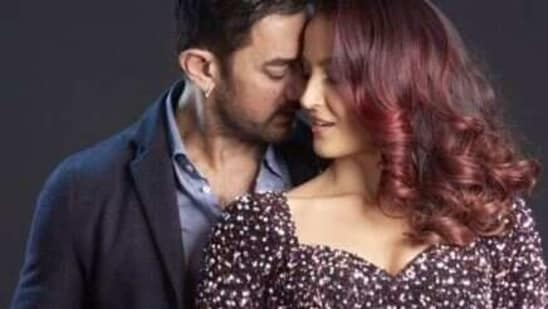 Aamir Khan and Elli AvrRam shot for the dance number earlier this year.