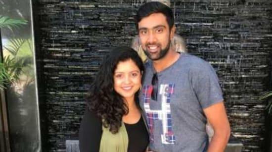 Ravichandran Ashwin with wife Prithi(Instagram/R Ashwin)