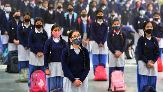 Due to an improvement in the overall situation, authorities allowed for the reopening of colleges, universities and schools for Classes 9 to 12 in January this year with all Covid-related norms in place. (Representative Image) (Raj K Raj/ Hindustan Times)