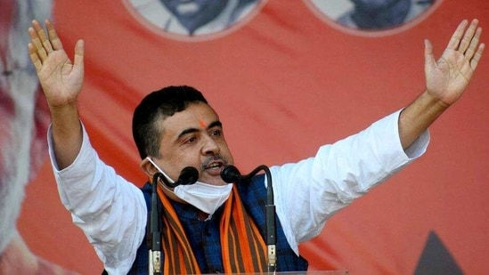 Suvendu Adhikari joined the BJP in December last year after alleging that the TMC has become corrupt and there is 'extremely deep rot' within it.(HT_PRINT)
