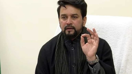 Anurag Thakur said the government welcomes innovation and new technology, but with caution, so that citizens get due protection and national security is ensured.(ANI)