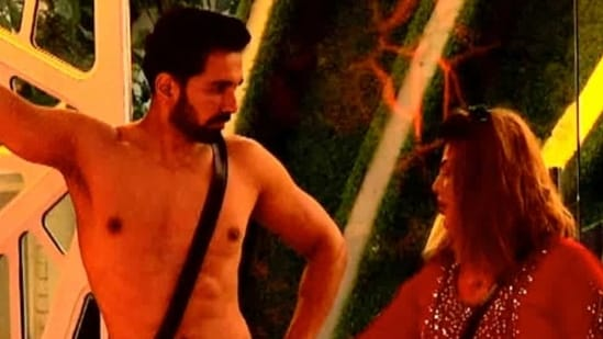Abhinav Shukla felt that Rakhi Sawant crossed a line when she pulled at the drawstring of his shorts.