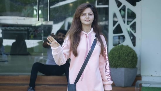 Rubina Dilaik in the Bigg Boss 14 house.(Colors)
