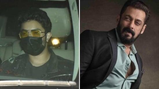 Sohail Khan's son Nirvan wears Salman's jacket(Varinder Chawla and Instagram/beingsalmankhan)