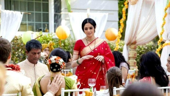 Sridevi in a scene from English Vinglish(Screengrab)