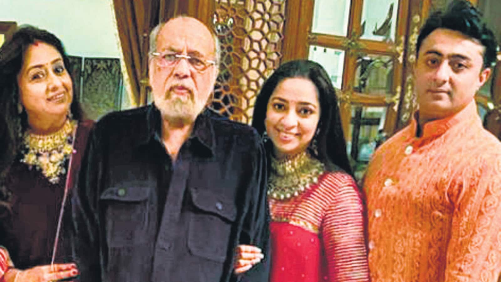 Nidhi Dutta: I will count myself lucky if Binoy and I can be half as happy as my parents are - Hindustan Times