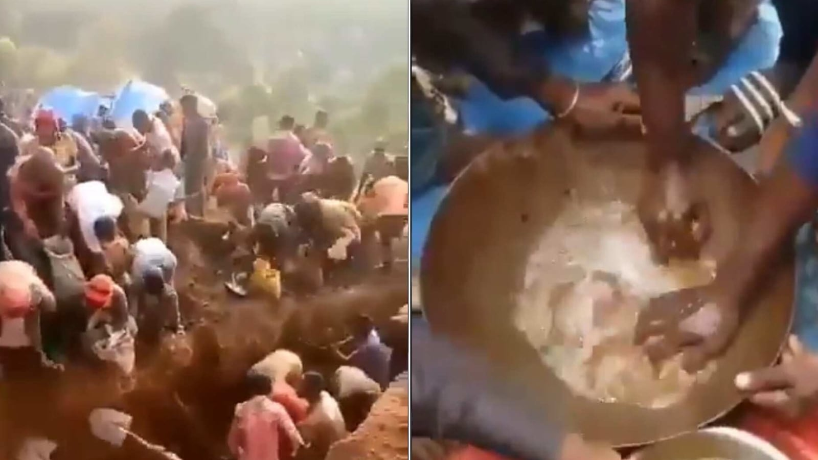 Locals rush in with shovels after mountain made of gold-rich ores found in DR Congo - Hindustan Times