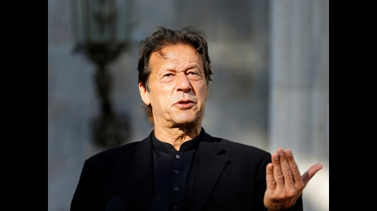 Pakistan's Prime Minister (PM) Imran Khan has secured his position for the foreseeable future by securing a vote of confidence in Parliament after the shock defeat of his finance minister in recent elections to the Senate. (REUTERS)