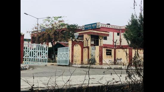 Government Sports Senior Secondary School, Ghudda, in Bathinda district. (HT PHOTO)