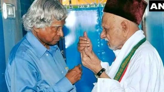 Mohammed Muthu Meeran Maraickayar died on Sunday(ANI Photo )