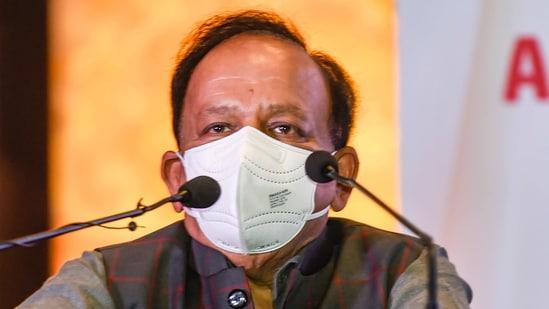 Harsh Vardhan said people should trust the science behind vaccines.(PTI)