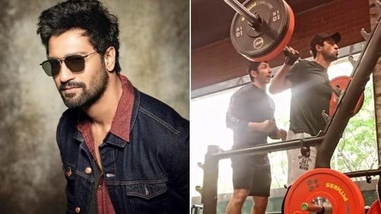 Vicky Kaushal shares new fitness video(Instagram story/ vickykaushal09)