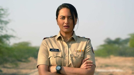 Sonakshi Sinha plays a tough cop in her debut web series.
