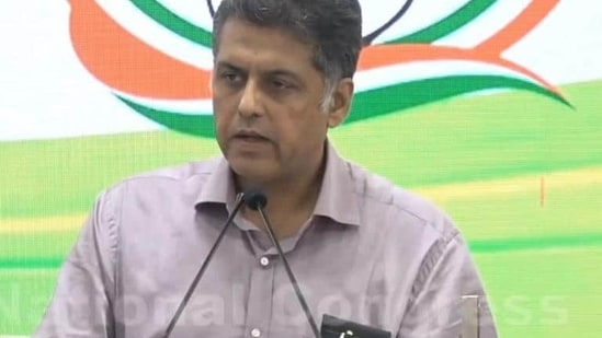 Tewari, one of the 23 leaders who wrote a letter to Congress president Sonia Gandhi seeking internal reform in the party, addressed the Kerala meeting at the invitation of the Congress's ally, Indian Union Muslim League.