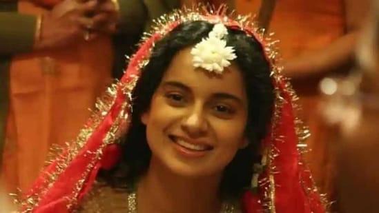 Kangana Ranaut in a still from Queen.