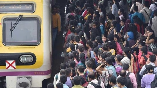 The Mumbai locals were open for the general public in restricted timing since February 1 while cases began to spike from mid-February. (Representative Image)(HT File)
