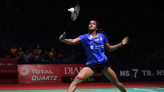 File image of PV Sindhu.(Getty Images)