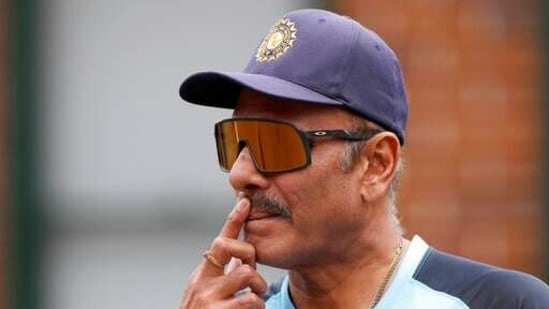 India's head coach Ravi Shastri(AP)