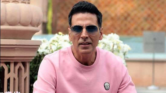 Actor Akshay Kumar says he is busy with his film shoot today.