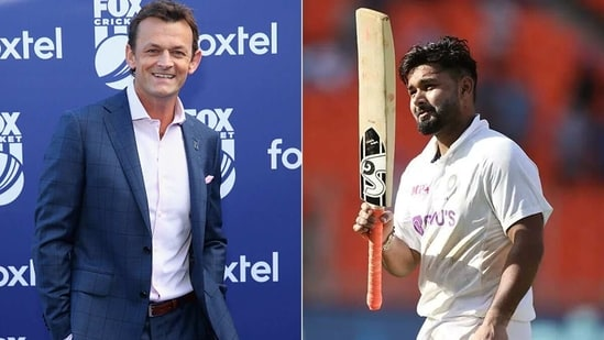 File images of Adam Gilchrist (L) and Rishabh Pant. (Getty/BCCI)